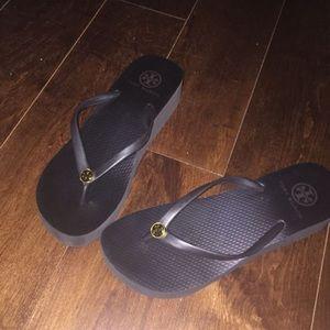 Tory Burch Platform Flip Flops